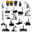 Oil industry — Vettoriali Stock