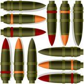 Anti-tank missiles — Stock Vector