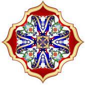 Oriental pattern-4 — Stock Vector