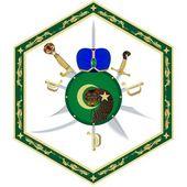 Turban, a shield and a sword — Stock Vector