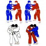 Постер, плакат: Judokas