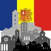 Andorra — Stok Vektör