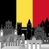 Belgium — Stock Vector