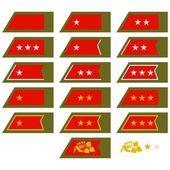 Insignia Army Slovakia — Stock Vector