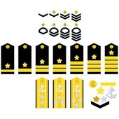 Japan Navy insignia — Stock Vector