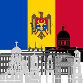 Moldova — Stock Vector