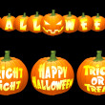 Vector halloween pumpkin concepts. — Stock Vector #1036709