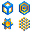Royalty-Free Stock Vector Image: Geometric figures.