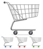 Shopping cart. — Stockvector