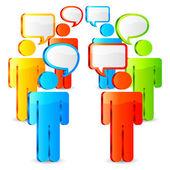 Communication concept. — Stock vektor