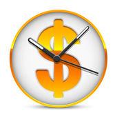 Tempo é dinheiro. — Vetorial Stock