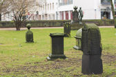 Old cemetery in Hannover, Germany — Stock Photo