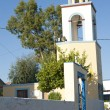 Bell tower of Greek Orthodox church - Stock Photo