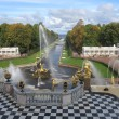 Stock Photo: grand cascade in peterhof