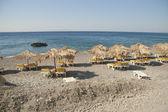 Beach on Kos island, Greece — Stock Photo