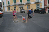 Sprint orienteering in Italy — Stock Photo