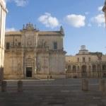 Piazza Duomo in Lecce, Italy — Stock Photo