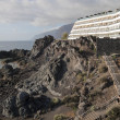 Resort in Los Gigantes - Stockfoto