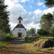 Lutheran church in Finland — Stock Photo