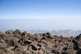 View from mount Teide — Stock Photo