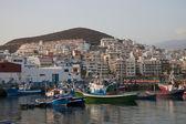 гавань лос-кристианос, тенерифе — Стоковое фото
