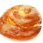 Sweet round sabbath challah — Stock Photo
