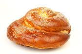 One sweet round sabbath challah — Stock Photo