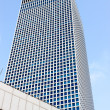 The square tower of Azrieli Center, Tel-Aviv — Stock Photo