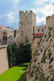 Moat near a tower of David, Jerusalem — Stock Photo