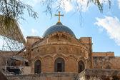 Iglesia del santo sepulcro en jerusalén — Foto de Stock