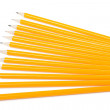Stock Photo: Group of yellow pencils