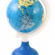 America on toy globe — Stock Photo