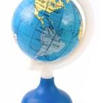 America on toy globe — Stock Photo #18249651