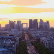 vista de Paris — Foto Stock