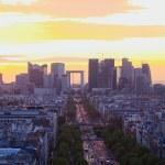 pohled na Paříž — Stock fotografie