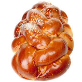 Sabbath challah with white seed — Stock Photo