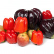 Stock Photo: Ripe vegetables and fruits