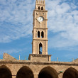 Old clock tower Akko — Stock Photo