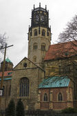 The old church in Munster, North Rhine-Westphalia, Germany — Foto de Stock