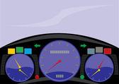 Cockpit — Stock Vector