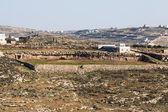 Dům v palestinské vesnice — Stock fotografie