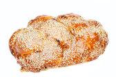 Challah with raisin — Stock Photo