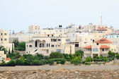 Several houses on the outskirts of the city of Hebron — Stock Photo