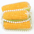 Stock Photo: Corn and pearls
