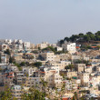 Jerusalem city, panorama of urban neighborhoods — Stock Photo