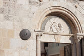 Via dolorosa street, 4th Station of the Cross — Stockfoto
