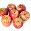 Group of apples — Stock Photo
