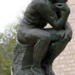 Stock Photo: Thinker by Rodin