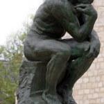 The Thinker by Rodin — Stock Photo