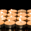Square of candles — Stock Photo #34941251
